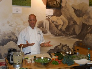 Grown on Maui Chef Demo Series at WFM - Chef Scott McGill