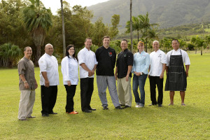 Nine Maui chefs are joined by Chef Richie Nakano of Hapa Ramen San Francisco and chefs from Orange County and Los Angeles.